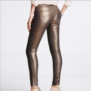 Express Dusted Gold Pants